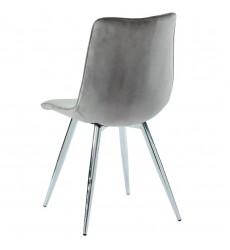 Marlo-Side Chair-Grey (202-110GY) Side Chair - Worldwide HomeFurnishings