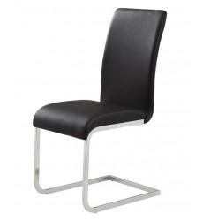 Maxim-Side Chair-Black (202-489BK) Side Chair - Worldwide HomeFurnishings