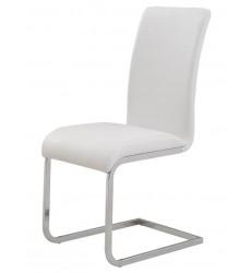 Maxim-Side Chair-White (202-489WT) Side Chair - Worldwide HomeFurnishings