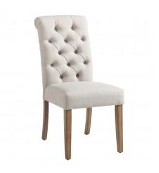 Melia-Side Chair-Beige (202-968BG) Side Chair - Worldwide HomeFurnishings