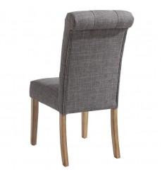 Melia-Side Chair-Grey (202-968GY) Side Chair - Worldwide HomeFurnishings