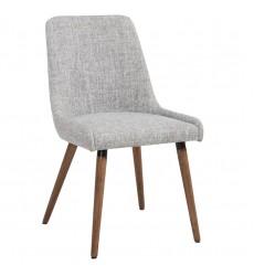 Mia-Side Chair-Light Grey/Grey Leg (202-247GY/LG) Side Chair - Worldwide HomeFurnishings