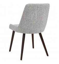 Mia-Side Chair-Light Grey/Walnut Leg (202-247WL/LG) Side Chair - Worldwide HomeFurnishings