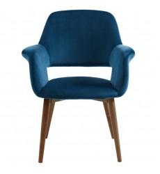 Miranda-Accent Chair-Blue (403-405BL) - Worldwide HomeFurnishings