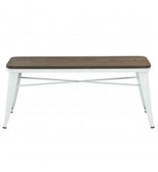 Modus-Backless Bench-White (401-197WT) - Worldwide HomeFurnishings