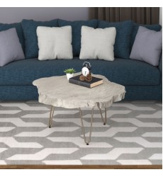 Nila-Coffee Table-Light Grey (301-329GY)