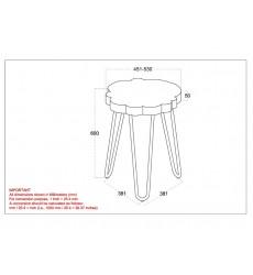 Nila-Accent Table-Light Grey (501-329GY) - Worldwide HomeFurnishings