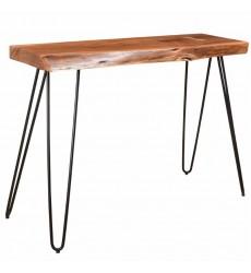 Nila-Console/Desk-Natural (502-329NAT) - Worldwide HomeFurnishings