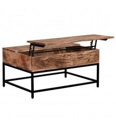 Ojas-Lift-Top Coffee Table-Natual Burnt (301-513NT)