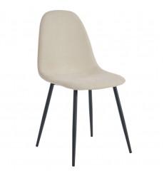 Olly-Side Chair-Beige (202-606BG) Side Chair - Worldwide HomeFurnishings