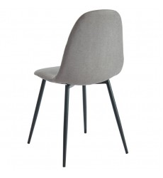 Olly-Side Chair-Grey (202-606GY) Side Chair - Worldwide HomeFurnishings