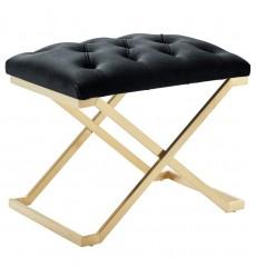 Rada-Single Bench-Black/Gold (401-404BK)