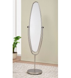 Worldwide - Reflex Standing Mirror - Satin Nickel (503-786)