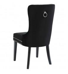 Rizzo-Side Chair-Black (202-080BK) Side Chair - Worldwide HomeFurnishings
