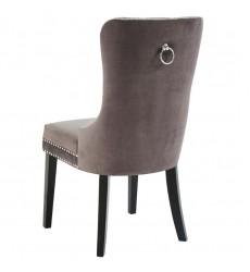 Rizzo-Side Chair-Grey (202-080GY) Side Chair - Worldwide HomeFurnishings