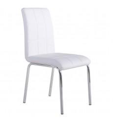 Solara Ii-Side Chair-White (202-160WT) Side Chair - Worldwide HomeFurnishings