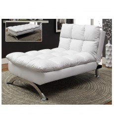 Worldwide - Sussex Lounge Chair - White (499-485WT)