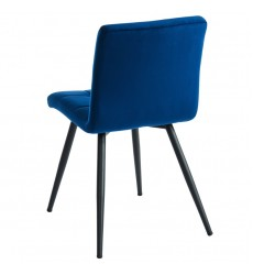 Suzette-Side Chair-Blue (202-476BLU) Side Chair - Worldwide HomeFurnishings