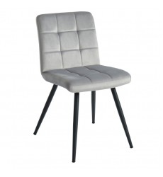 Suzette-Side Chair-Grey (202-476GRY) Side Chair - Worldwide HomeFurnishings