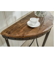 Trenton-Console Table-Distressed Pine (502-244)