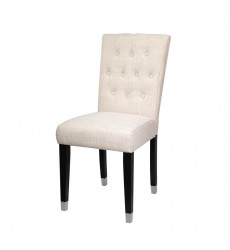 Xcella - Elson Charcoal Dining Chair Beige GY-DC-8119