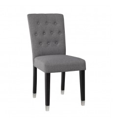 Xcella - Elson Charcoal Dining Chair Slate GY-DC-8119