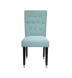 Xcella - Elson Charcoal Dining Chair SPA Blue GY-DC-8119