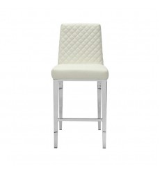 Xcella - Alisa White Aspen Counter Chair GY-COU8115-XX
